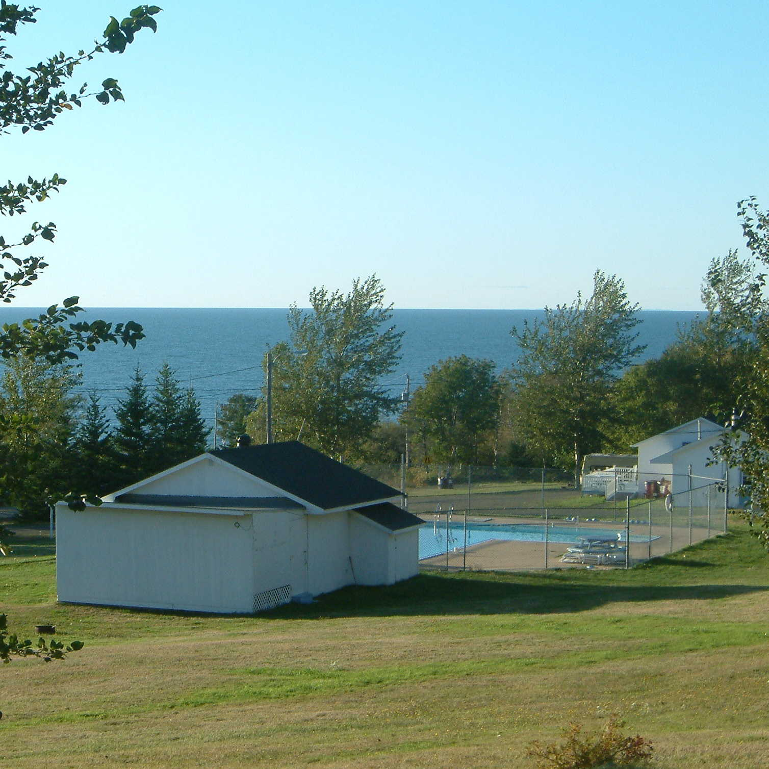 Bay Of Fundy Camping >> Campground View Of The Bay Fundy Trail Campground Cottages