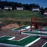 The campground's mini-golf park.
